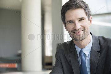 Insurance agent  portrait
