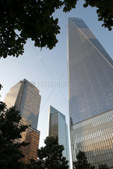 One World Trade Center  Manhattan  New York City  New York  USA