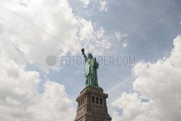 Statue of Liberty  New York City  New York  USA