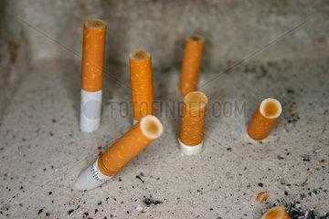 Berlin - Zigarette Friedhof
