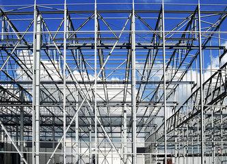Neubau Werkhalle