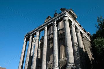 Rome. Church and Foro Romanus