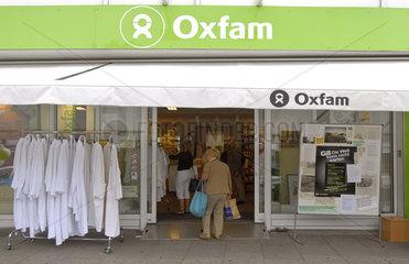 Oxfam-Filiale in Deutschland  Hamburg