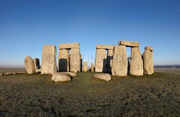 Stonehenge  Wiltshire  England
