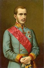 Kronprinz Rudolf von Oesterreich-Ungarn  1875
