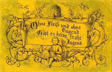 Fleisskaertchen  1850