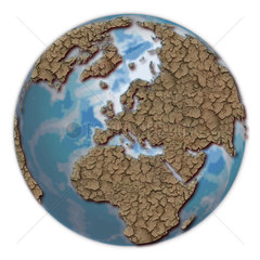 Wueste Erde - Symbolbild Klimawandel
