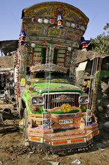 pakistanischer Lastwagen