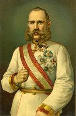 Kaiser Franz Josef von Oesterreich  1875
