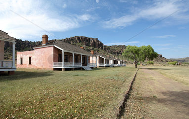 Officers' Row  Fort Davis National Historic Site  Texas  USA