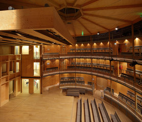 Elizabethan Theatre  Chateau de Hardelot  Condette  Pas-de-Calais  France