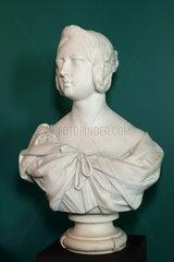 Bust of Queen Victoria  Chateau de Hardelot  Condette  Pas-de-Calais  France