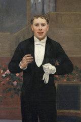 Portrait of Alexandre Ernest Coquelin  Chateau de Hardelot  Condette  Pas-de-Calais  France
