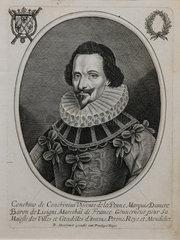Portrait of Conchino de Conchini  Chateau de Hardelot  Condette  Pas-de-Calais  France
