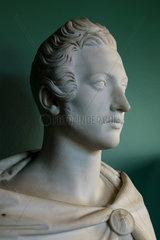 Bust of Prince Albert  Chateau de Hardelot  Condette  Pas-de-Calais  France