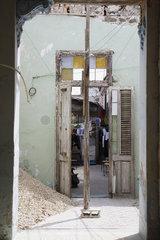 Baufaellige Wohnhaus im Havanna