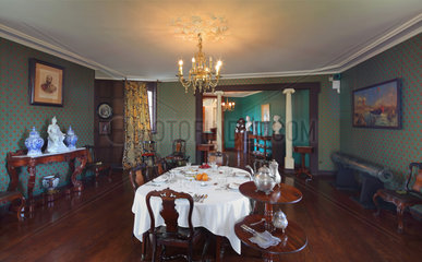 Dining Room  Chateau de Hardelot  Condette  Pas-de-Calais  France