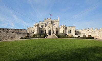 Chateau de Hardelot  Condette  Pas-de-Calais  France