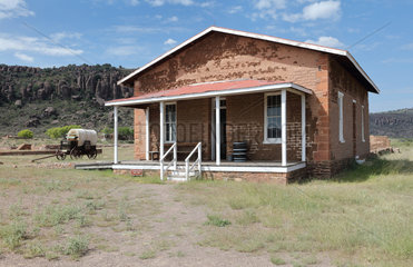 Commissary  Fort Davis National Historic Site  Texas  USA