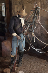 Cavalryman  Fort Davis National Historic Site  Texas  USA