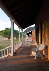 Commanding Officer's quarters  Fort Davis National Historic Site  Texas  USA