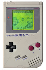 erster Nintendo Game Boy  1989