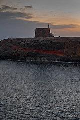 Castillo de Las Coloradas - Playa Blanca  Lanzarote