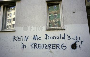 Kein Mc Donald's