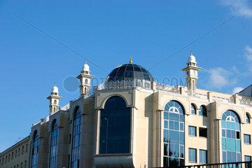 Berlin - Minarette der Moschee in die Wienerstrasse