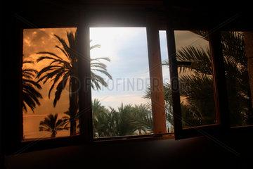 Ausblick im Malaga