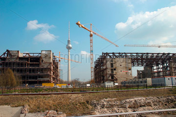 Berlin - The Removal of the Palace of the Republic