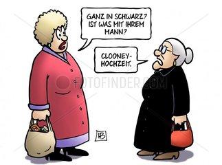 Clooney-Hochzeit