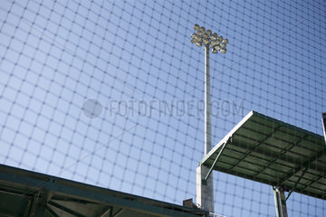 Safety net in stadium  cropped