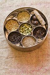 Ingredients for garam masala