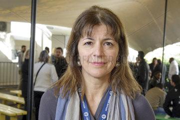 Maria Stavropoulou  Leiterin der griechischen Asylbehoerde