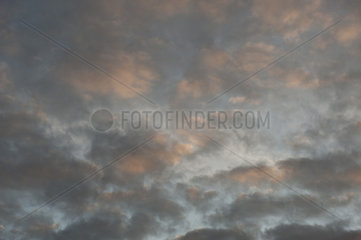 Dramatic sky  full frame
