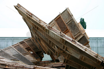 Installation von Ai Weiwei nach dem Unwetter