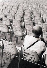 Besucher ein Konzert in Rom