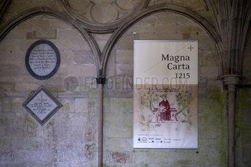 Magna Carta  Salisbury  England