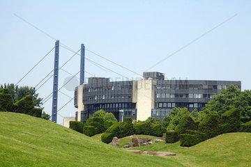 Landtag von Nordrhein-Westfalen in Duesseldorf
