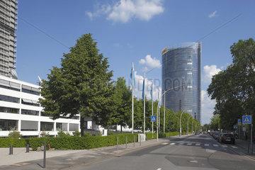 Post-Tower im ehemaligen Regierungsviertel von Bonn