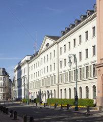 Hessischer Landtag am Schlossplatz  Wiesbaden