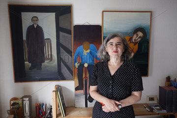 HONIGMANN  Barbara - Portrait of the writer