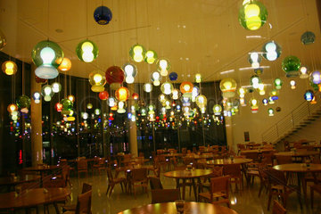 Lampen im Paul-Loebe-Haus