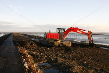 Kuestenschutz an der Nordsee - Coastal Protection Measures