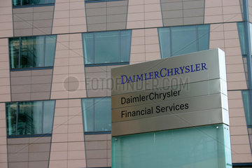 Berlin - Daimler Chrysler Financial Services am Potsdamer Platz