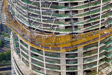 Baustelle Shanghai Tower