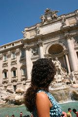 Italy  Rome - Fontana di Trevi