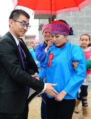 CHINA-FUCHUAN-ETHNIC WEDDING (CN)