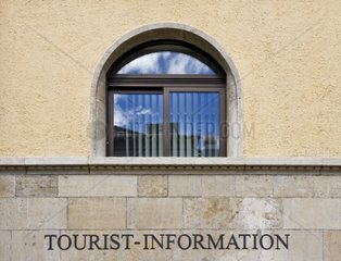 TOURIST INFORMATION in the town hall of Albstadt  Baden-Wuerttemberg  Germany